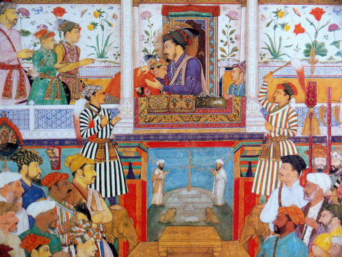 pakizah:  Shah Jahan receives his 3 eldest sons (by Proxy Indian)