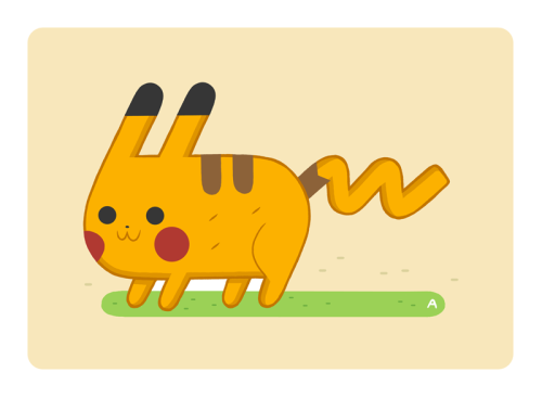 Pikachu by captainalec - Follow @garabatweet and Garabating on Facebook -
