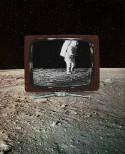 sammyslabbinck:  ' Man on the moon ' © Sammy Slabbinck 2013 porfolio /  society6.com / facebook / flickr / shop