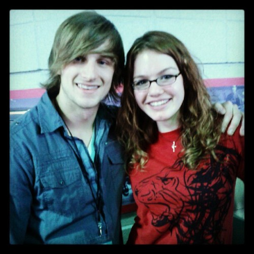 Me and the adorable singer/guitarist from ATF Live #atflive