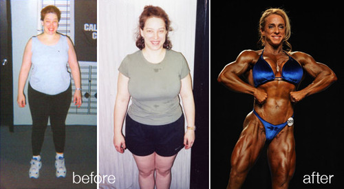 "Lauren Laplante Before & After Lauren Laplante moved to Chicago in 2002 and decided to make a physical change in her new city. She hit the gym, worked hard and made her bodybuilding debut in 2006. Lauren says, ""For me bodybuilding is not only about competing. The journey, one day at a time, is the best part for me."""