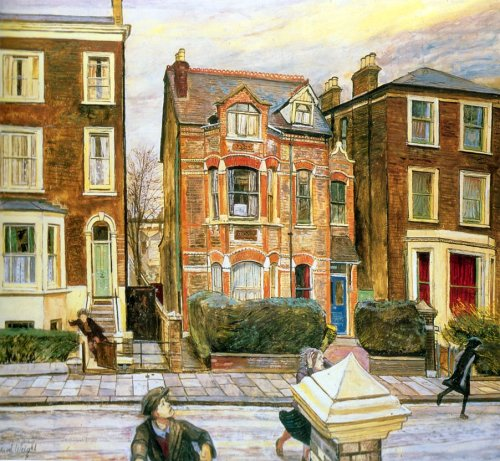 peira:  Carel Weight (1908-1997):  Foxwood (not dated)