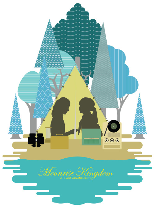 fuckyeahmovieposters:  Moonrise Kingdom by Johnfold