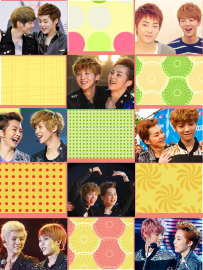 xiuhan + smiles patterns from camxso