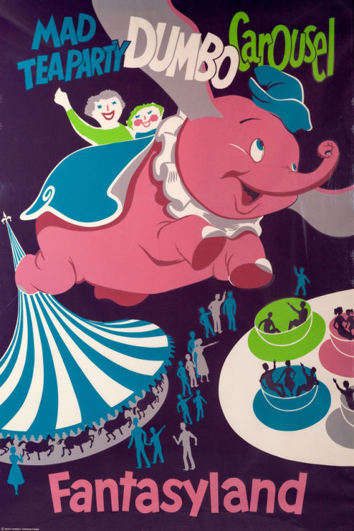 disneyland fantasyland dumbo dumbo the flying elephant mad tea party the mad hatter Alice In Wonderland King Arthur Carrousel