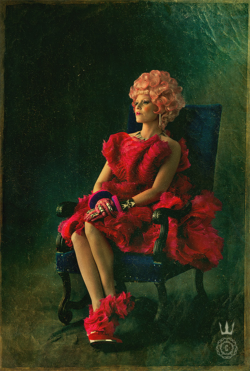 valentineuhovski:  McQueen. The Hunger Games: Catching Fire. 11.22.2013.