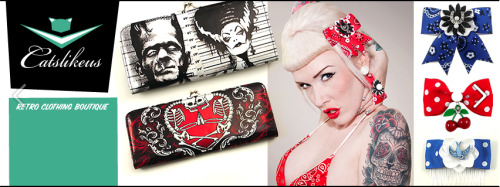 Punk Up Bettie products are now available at Cats Like Us in NY! <3