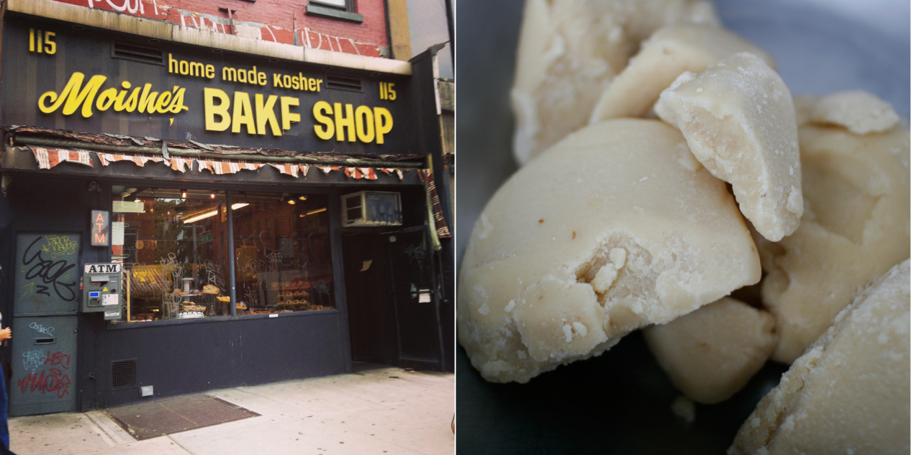 The making of The Marzipan PigStep 1: get Moishe (of East Village's Moishe's Bakery) to make you some legit marzipan.