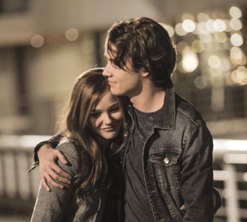 """Nothing else mattered, until now, until you."" Like or re-blog to vote for this moment to be featured in our exclusive fan poster for If I Stay!"