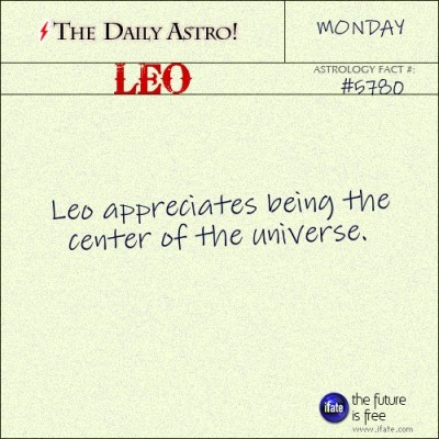 Leo 5780: Visit The Daily Astro for more Leo facts.