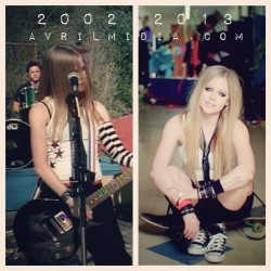 #avrillavigne #complicated #herestonevergrowingup #blackstar #instagood