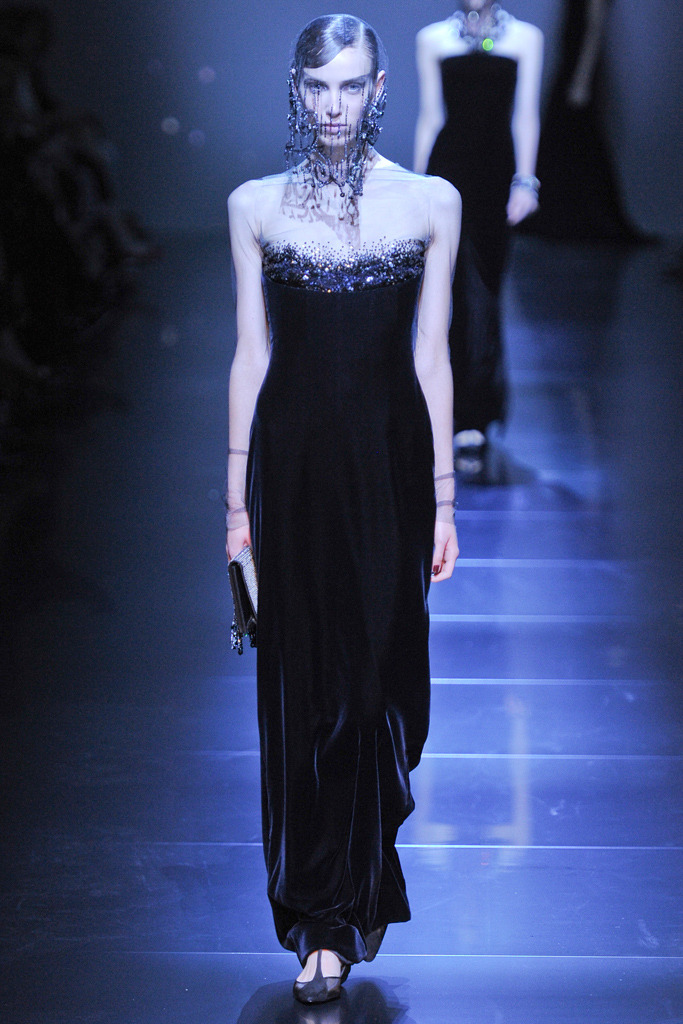 speakingbitterness:  Armani Privé haute couture fall 2012