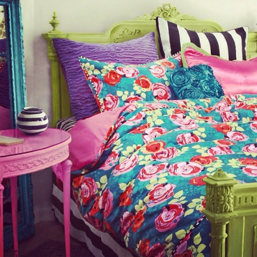 "Sneak peek! ""Teal Me The Truth"" bedding collection coming soon! #wakeupfrankie #fashion #floral #color"