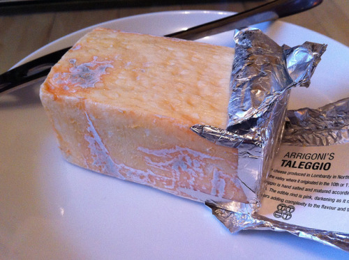 New favourite cheese: Taleggio on Flickr. This cheese is fantastic. It may look a bit… off. But you know what? Never judge a cheese by its rind.