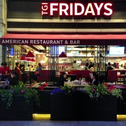I don't remember TGI Friday's having this tag line in America.