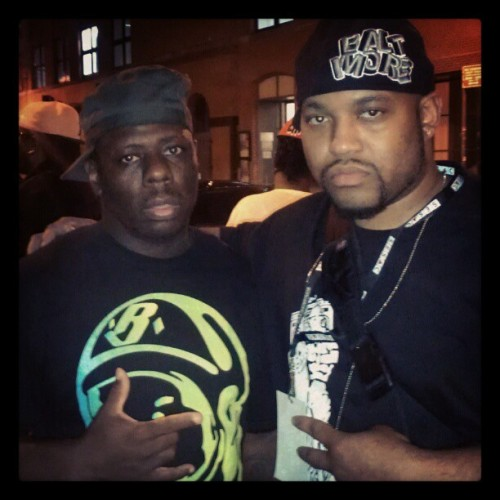 Buckwild x Gee Wiz at Dynamic Producer 2012 #buckwild #diggin #samples #bronx #newyork #nyc #beatmaker #hiphop #ditc #dynamicproducer @therealbuckwild