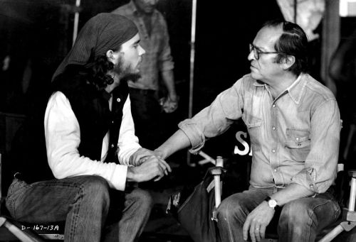 Timothy Hutton and director Sidney Lumet see eye to eye on Daniel
