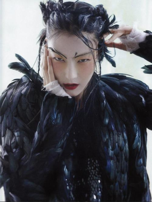 ladygarfunkel:  Ji Hye Park by Lee Gun Ho, Vogue Korea, January 2013
