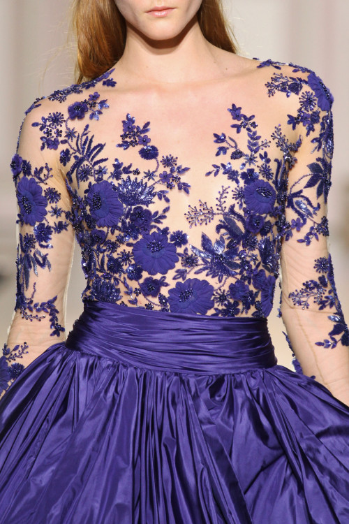 girlannachronism:  Zuhair Murad fall 2012 couture details