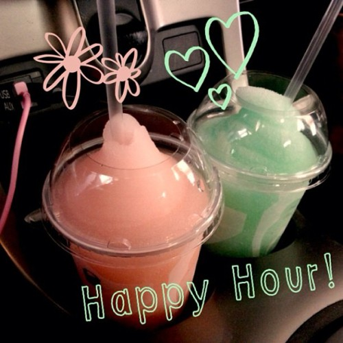 Watching Dumbo &&& enjoying some pretty drinks. 💗💚💗💚 #latergram   (at Avengers Mansion)