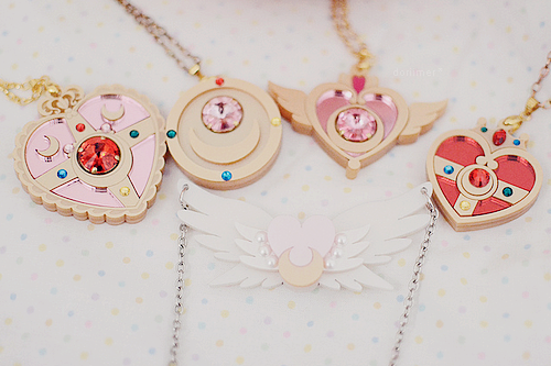 SM Necklaces by GummyOctopus