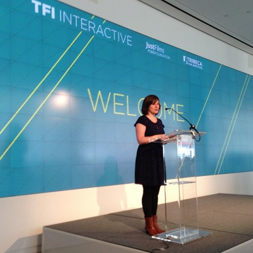 Beth Janson at TFI INTERACTIVE DAY