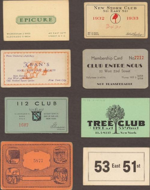 chadabramovich:  Speakeasy Cards: A Prohibition-Era Ticket to Drink
