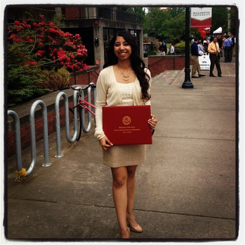 It's HUGE but I did it! Woohoo! #MBA