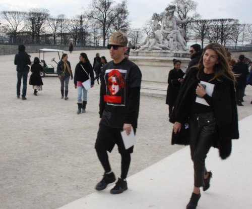 Kyle Anderson @KyleEditor Givenchy at Paris Fashion Week