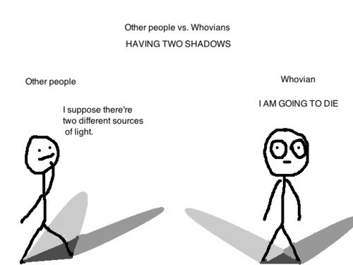 You know your a whovian when…