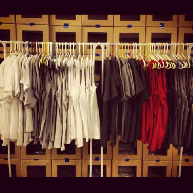 Getting our pocket tee collection finished for next weekend's Pop Up Shop/ Art Show at the warehouse. You ain't ready!