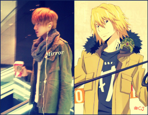 Kris from EXO-M and Dino from Hitman Reborn ^^