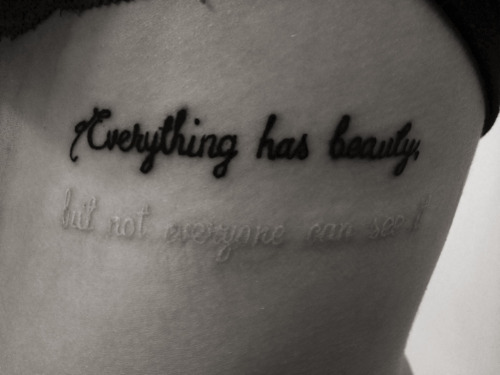 maud1e:  show-me-something-pretty:  xmelalovebugx:  Best tattoo I've seen by far.  this is so beautiful  reblogging again because it's perfect