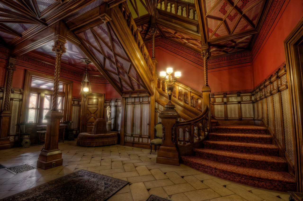 makemineachocolate:  electric-voltage:  Mark Twain's House, Hartford, CT Photo by Frank C. Grace (Trig Photography)  wowzers