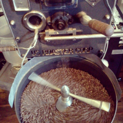 beans, beans, they're good for your heart. #coffeeroaster #beans (at Qualia Coffee)