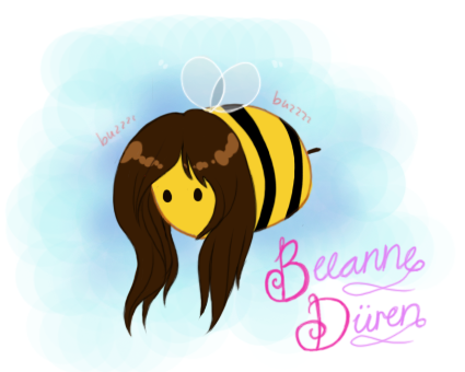 givemeoneday:  we are honey and i'm a bee
