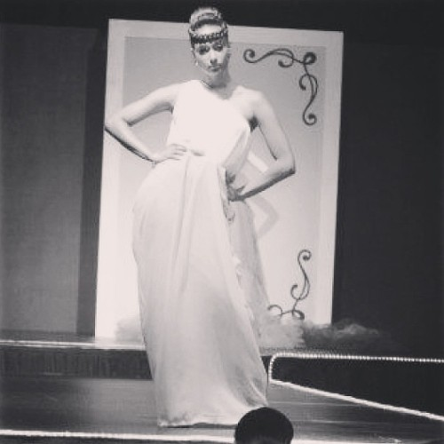 #tbt me modeling at iconic fashion show #lu shout out to the designer @chassidyskiss and hairstylist @androidmartyr