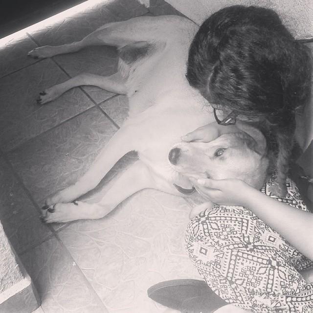 Ella es toda una encimosilla, pero la amo #Güera #MaBby #Consentida #True #Love #SheMakesMeHappy♡♡♡