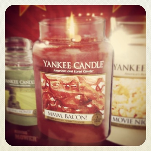 Hahaha! Bacon scented candle