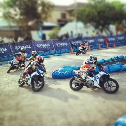 the 9th asean yamaha motor race!