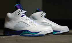 Air Jordan V Grape: 23 years on, it's back (again) via crookedtongues.com