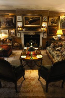 lostile:           The Drawing Room at Thurloe Lodge, Mark Birley's London home for 30 years.