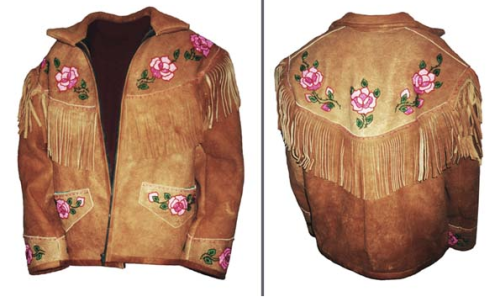 fyeahindigenousfashion:  beaded moose hide jacket, Wedahti Fashions (Dogrib)