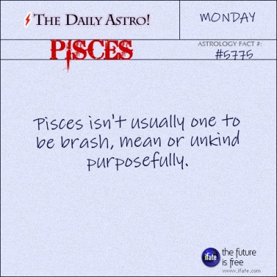 Pisces 5775: Visit The Daily Astro for more facts about Pisces...and click here for the web's best horoscopes!