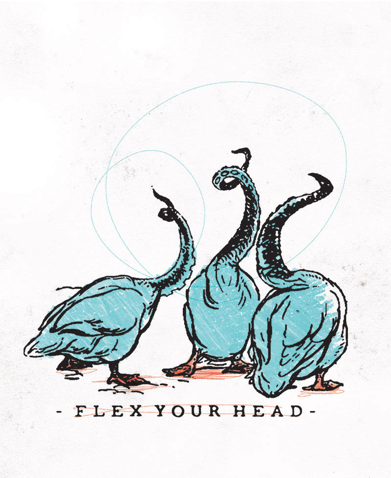 """flex your head"" - antitudoFlavio BáBrasilwww.antitudo.com"