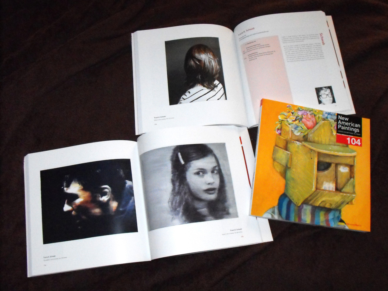 Very honored to be included in the new issue of New American Paintings! On sale in bookstores across the country this March. Thanks to curator Nina Gara Bozicnik and the fine folks at NAP for selecting me!