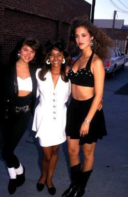 women 90's 90s Elizabeth Berkley Lark Voorhies Tiffani Amber Thiessen Tiffani Thiessen