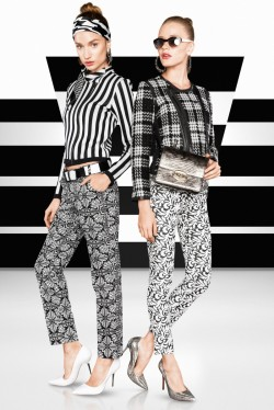 classicmodels:  Tavinho Costa Shoots Black and White Fashions for Vogue Brazil May 2013