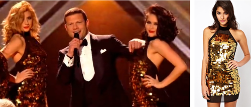 X FACTOR STYLE TIME  i spotted Dermot O'leary's dancers wearing this dress from Asos. Get the dress —> HERE