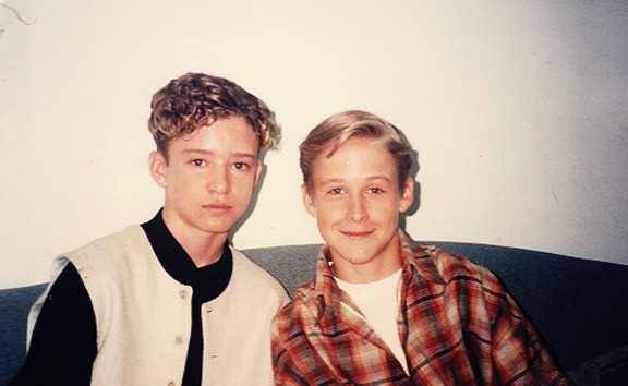 wait, Justin Timberlake and Ryan Gosling? Babes that were childhood besties…makes sense.